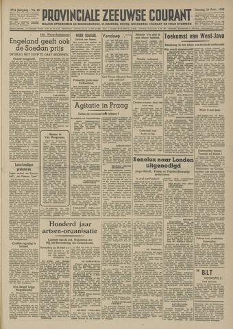 Provinciale Zeeuwse Courant 1948-02-24