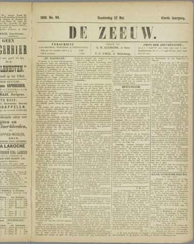 De Zeeuw. Christelijk-historisch nieuwsblad voor Zeeland 1890-05-22