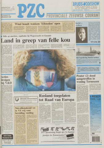 Provinciale Zeeuwse Courant 1996-01-26