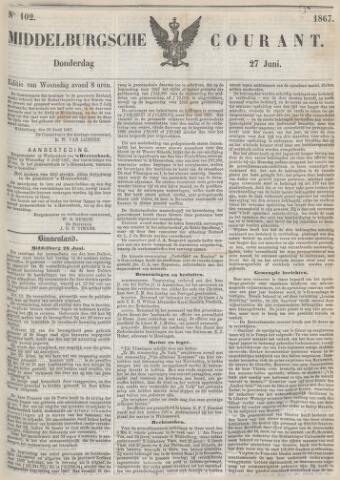Middelburgsche Courant 1867-06-27