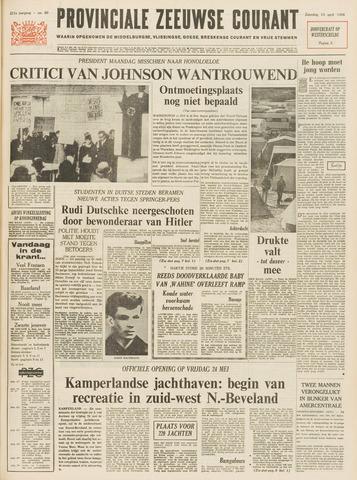 Provinciale Zeeuwse Courant 1968-04-13