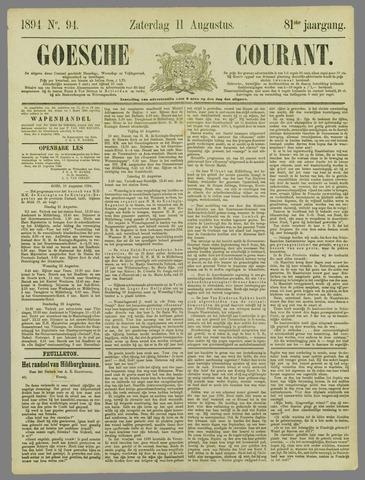 Goessche Courant 1894-08-11