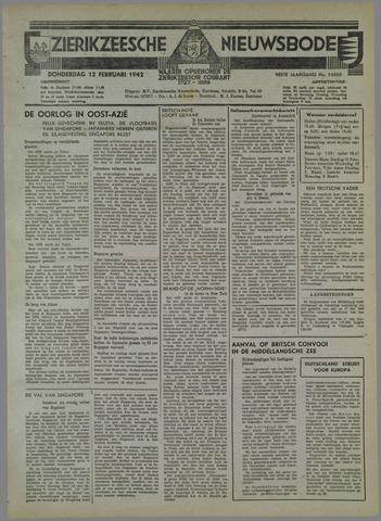 Zierikzeesche Nieuwsbode 1942-02-12