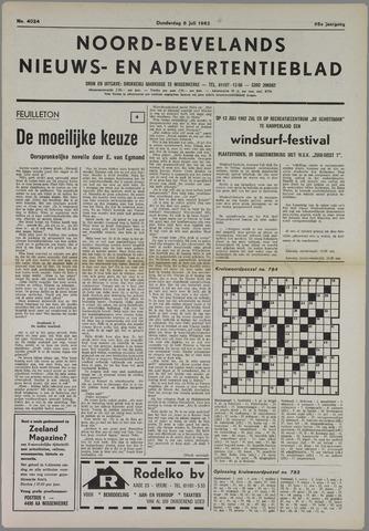 Noord-Bevelands Nieuws- en advertentieblad 1982-07-08