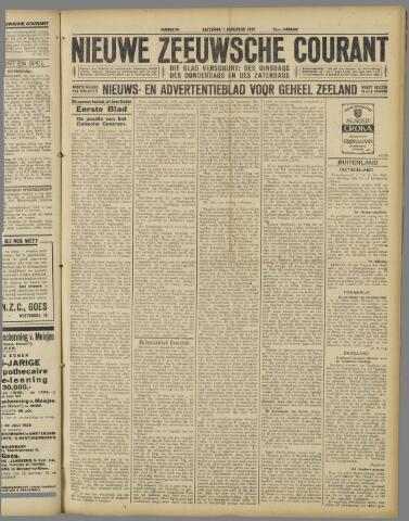 Nieuwe Zeeuwsche Courant 1925-08-01