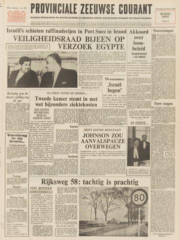 Provinciale Zeeuwse Courant 1967-10-25