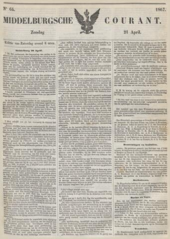 Middelburgsche Courant 1867-04-21