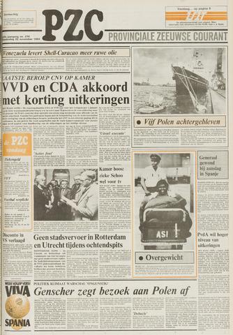 Provinciale Zeeuwse Courant 1984-11-22