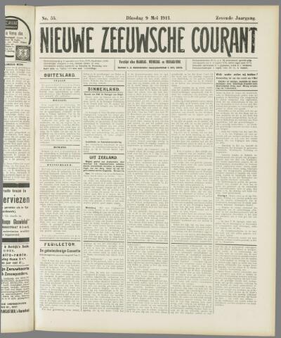 Nieuwe Zeeuwsche Courant 1911-05-09
