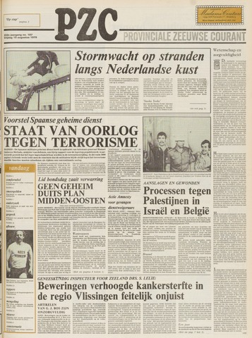 Provinciale Zeeuwse Courant 1979-08-10