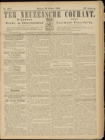 Ter Neuzensche Courant. Algemeen Nieuws- en Advertentieblad voor Zeeuwsch-Vlaanderen / Neuzensche Courant ... (idem) / (Algemeen) nieuws en advertentieblad voor Zeeuwsch-Vlaanderen 1906-10-30
