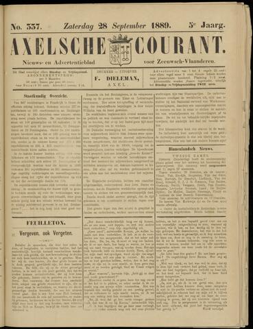 Axelsche Courant 1889-09-28