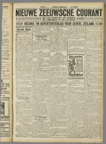 Nieuwe Zeeuwsche Courant 1927-01-29