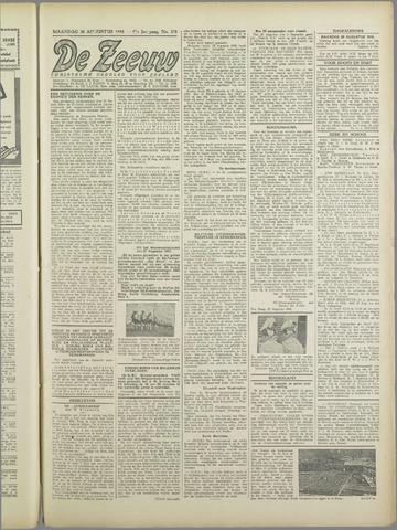 De Zeeuw. Christelijk-historisch nieuwsblad voor Zeeland 1943-08-30