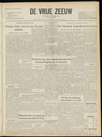 de Vrije Zeeuw 1954-09-18
