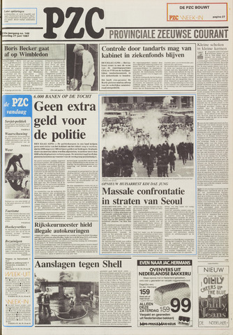 Provinciale Zeeuwse Courant 1987-06-27