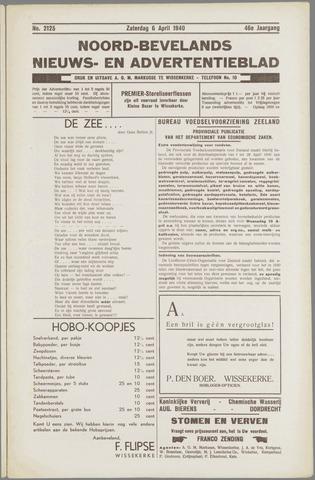 Noord-Bevelands Nieuws- en advertentieblad 1940-04-06