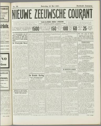 Nieuwe Zeeuwsche Courant 1917-05-19