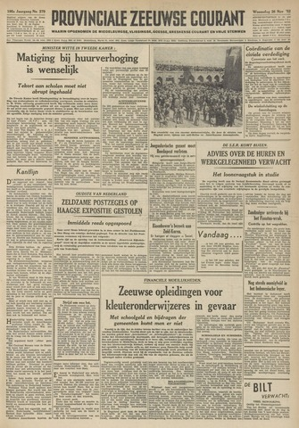Provinciale Zeeuwse Courant 1952-11-26