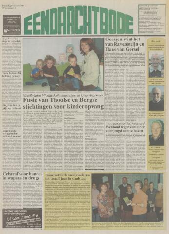 Eendrachtbode (1945-heden)/Mededeelingenblad voor het eiland Tholen (1944/45) 2003-11-20