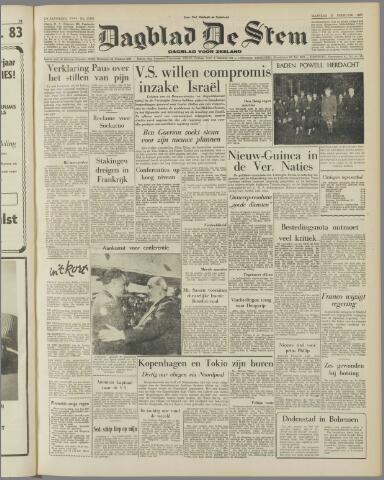 de Stem 1957-02-25