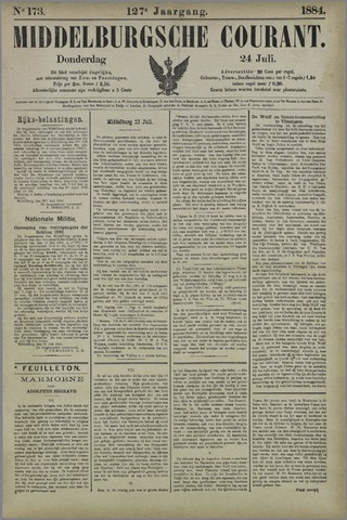 Middelburgsche Courant 1884-07-24