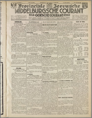 Middelburgsche Courant 1934-01-11