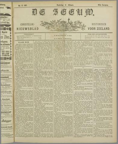 De Zeeuw. Christelijk-historisch nieuwsblad voor Zeeland 1897-02-11