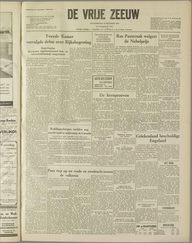 de Vrije Zeeuw 1958-10-30
