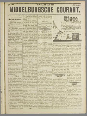 Middelburgsche Courant 1927-05-13