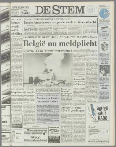 de Stem 1986-09-27