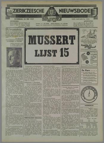Zierikzeesche Nieuwsbode 1937-05-22