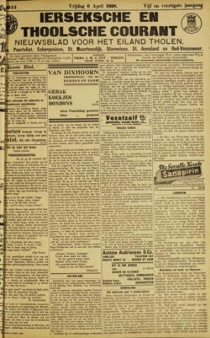 Ierseksche en Thoolsche Courant 1928-04-06