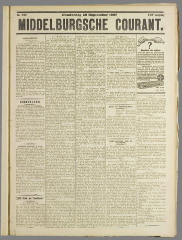 Middelburgsche Courant 1927-09-29