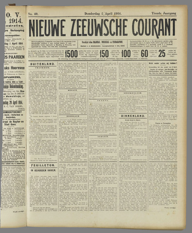 Nieuwe Zeeuwsche Courant 1914-04-02