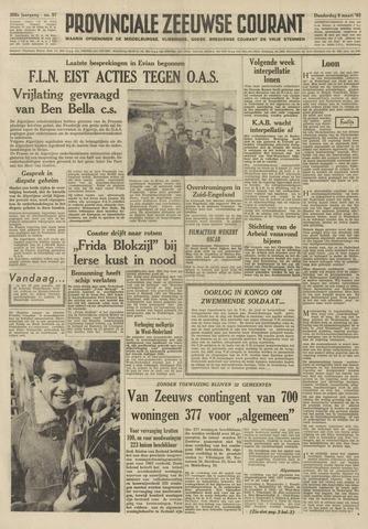 Provinciale Zeeuwse Courant 1962-03-08