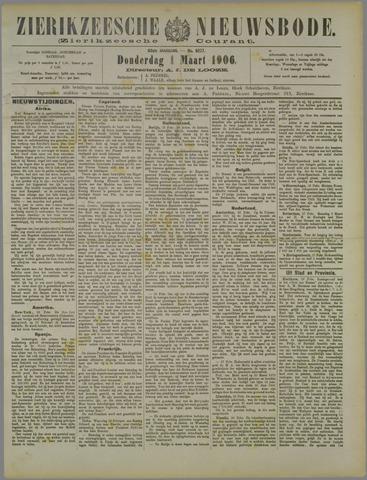 Zierikzeesche Nieuwsbode 1906-03-01