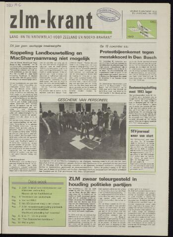 Zeeuwsch landbouwblad ... ZLM land- en tuinbouwblad 1993-11-05