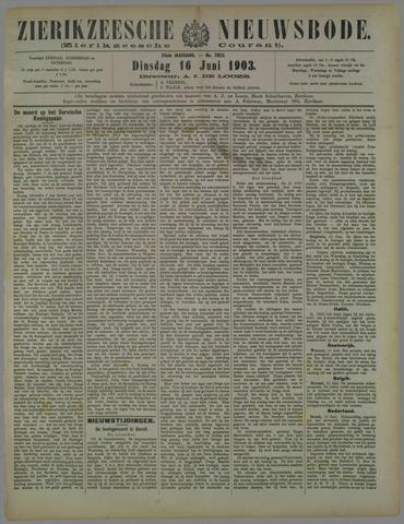 Zierikzeesche Nieuwsbode 1903-06-16