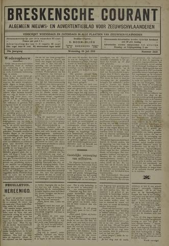 Breskensche Courant 1919-07-30