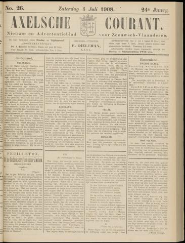 Axelsche Courant 1908-07-04