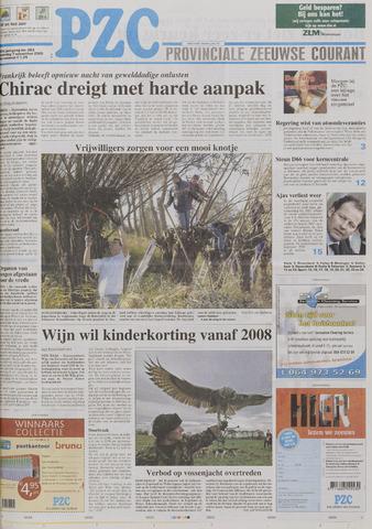 Provinciale Zeeuwse Courant 2005-11-07