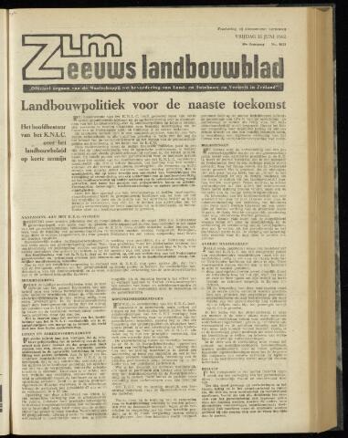 Zeeuwsch landbouwblad ... ZLM land- en tuinbouwblad 1962-06-15