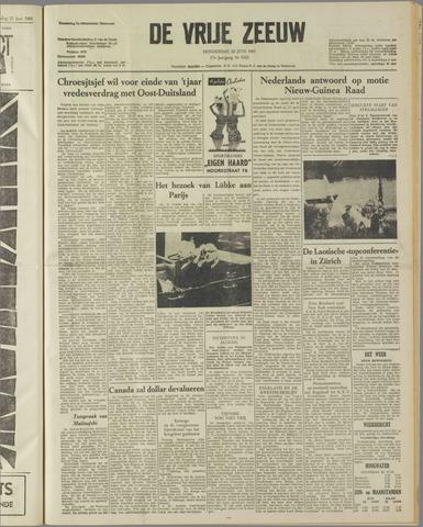de Vrije Zeeuw 1961-06-22