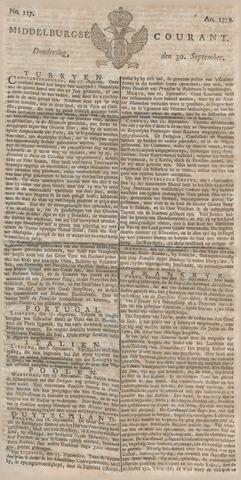 Middelburgsche Courant 1779-09-30
