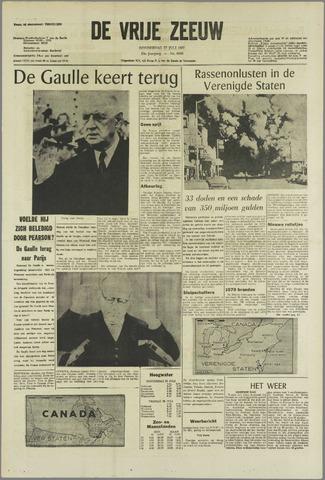 de Vrije Zeeuw 1967-07-27