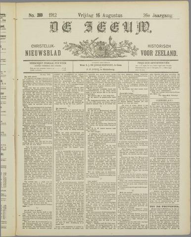 De Zeeuw. Christelijk-historisch nieuwsblad voor Zeeland 1912-08-16