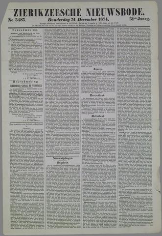 Zierikzeesche Nieuwsbode 1874-12-31