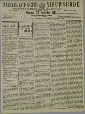 Zierikzeesche Nieuwsbode 1910-11-28