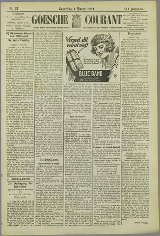 Goessche Courant 1924-03-01